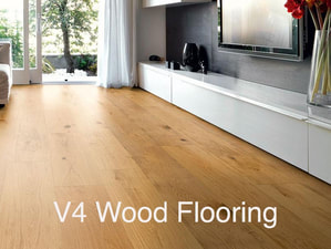 Engineered wood flooring in Ascot by V4 wood flooring - Oiled oak, lacquered oak, Walnut flooring